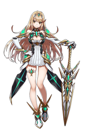 Xenoblade Chronicles 2 Mythra